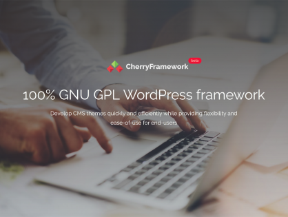 WordPress Thema met Cherry Framework 5 installeren