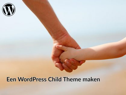 Een WordPress child theme maken